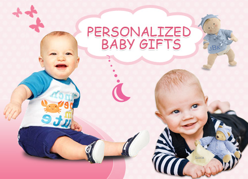Keep Your Baby Smiling With Personalized Gifts