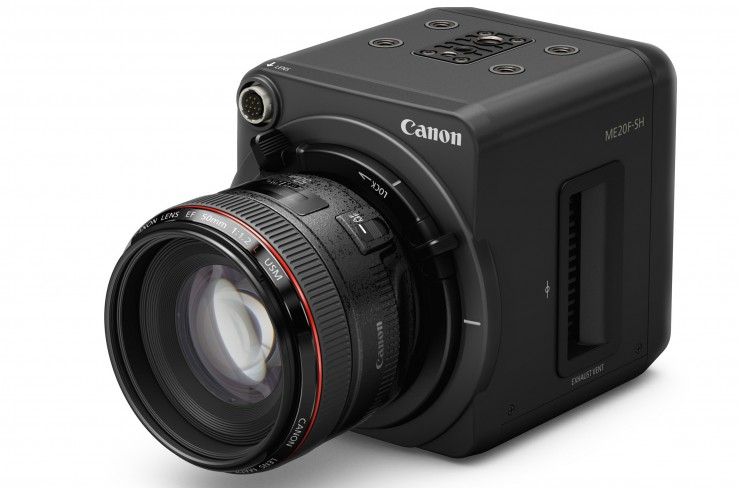 Canon Announced New ME20F-SH: 35mm Camera With 4 Million Max ISO