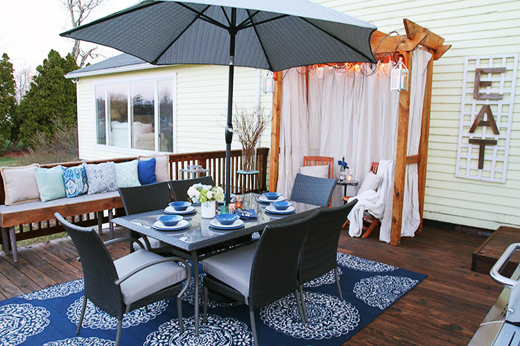 Patio Time - Where Pleasure And Comforts Meets Style In A Budget