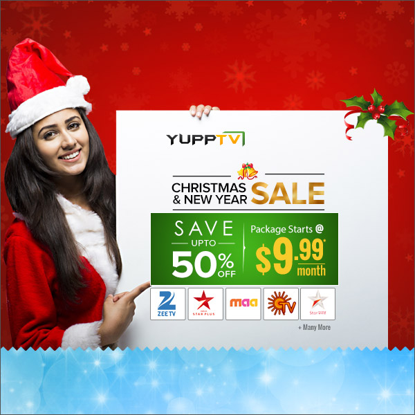 YuppTV Christmas SALE In United States