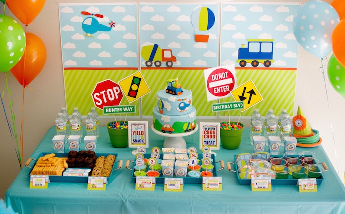 Colour Themed Birthday Party Make Your Party A Blast