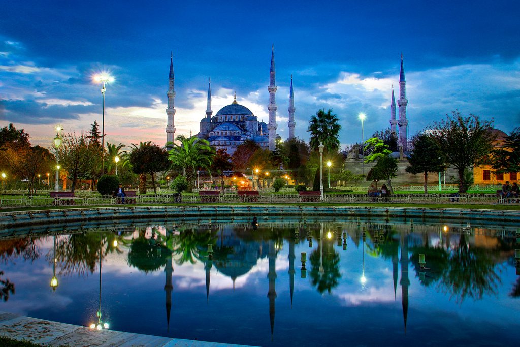Sultan Ahmed Mosque; The Blue Mosque