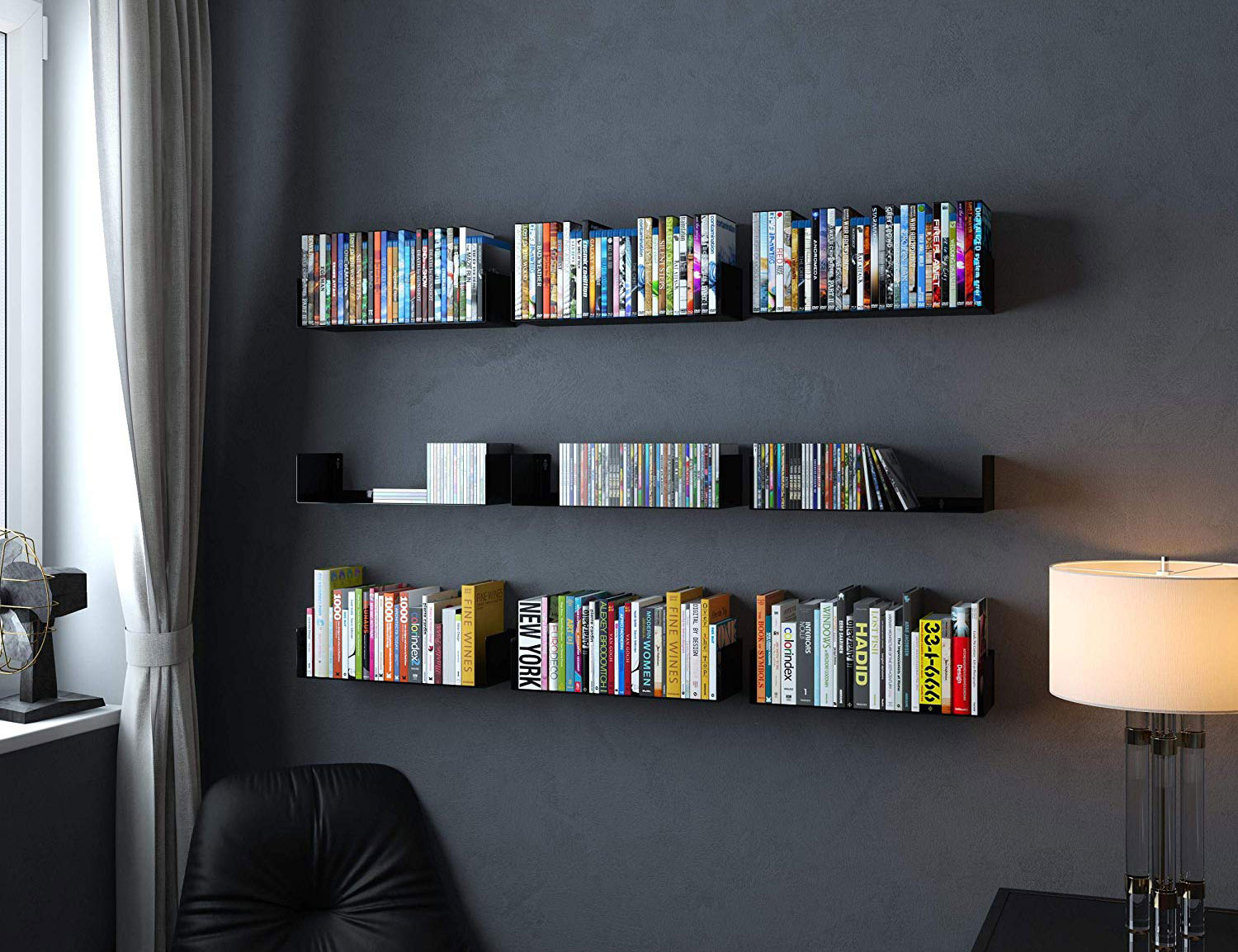 black color Walls idea